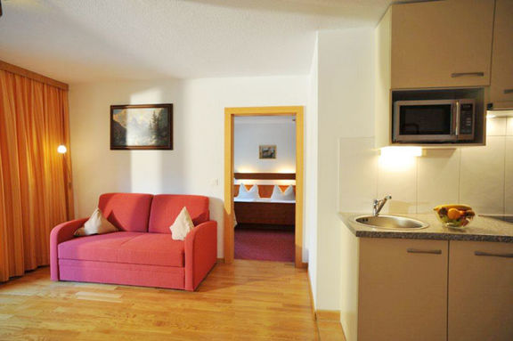 Living room Apartment A Strobl